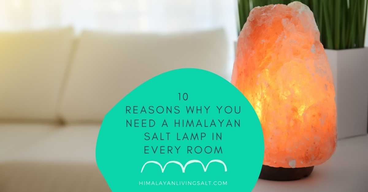 10 Reasons Why You Need A Himalayan Salt Lamp In Every Room