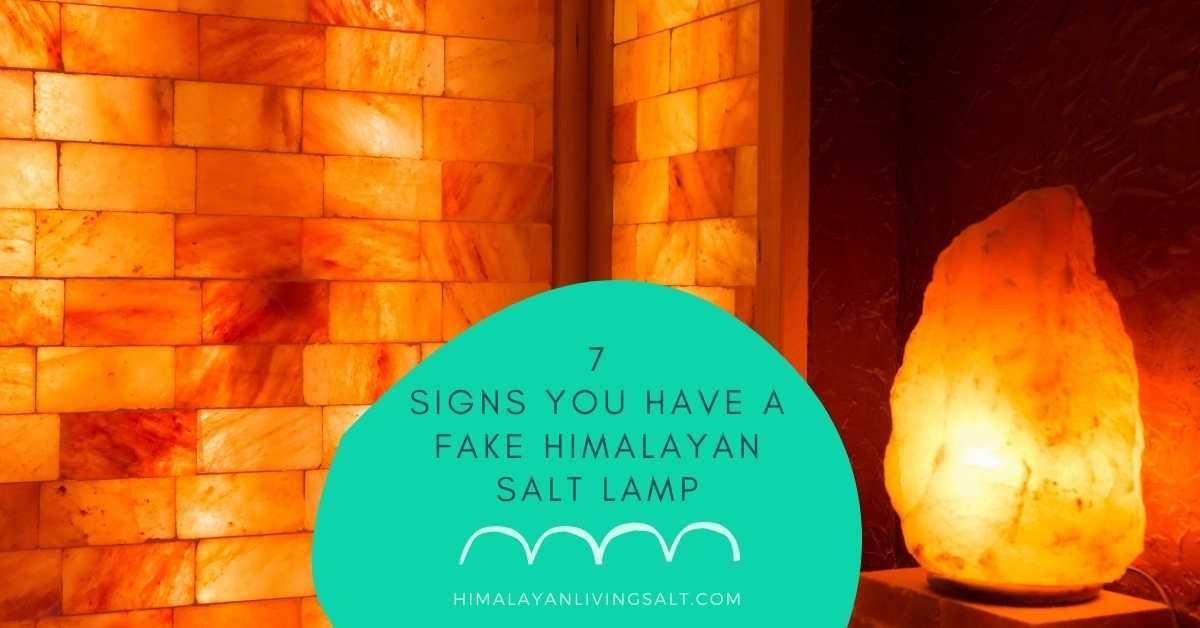 7 Signs You Have A Fake Himalayan Salt Lamp