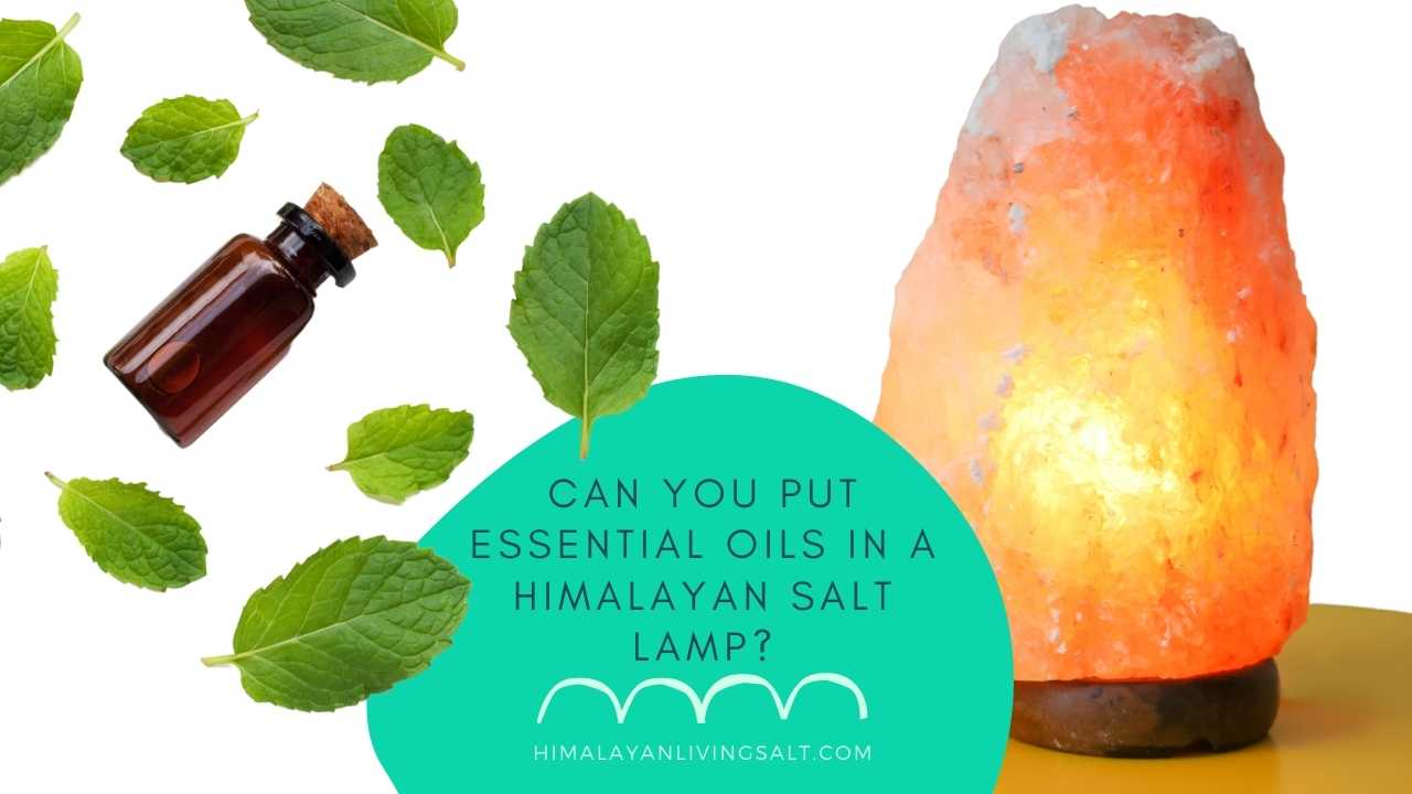 Can You Put Essential Oils In A Himalayan Salt Lamp?