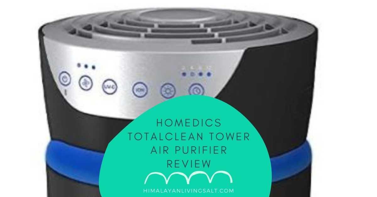 Homedics TotalClean Tower Air Purifier review