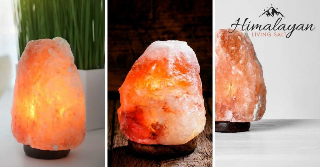 How To Spot Fake Himalayan Salt Lamp: It Is A Solid Color Rather Than A Blend