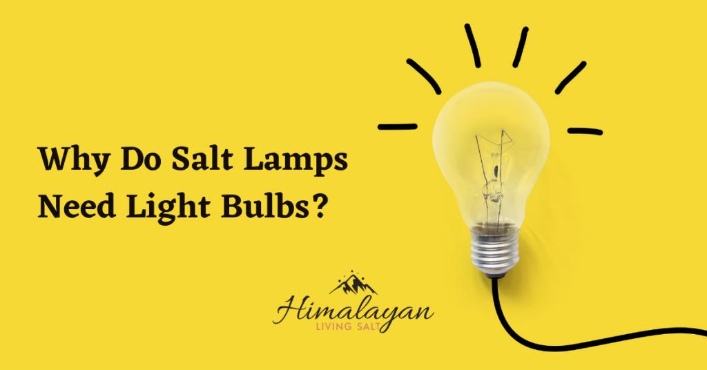 Why Do Salt Lamps Need Light Bulbs?